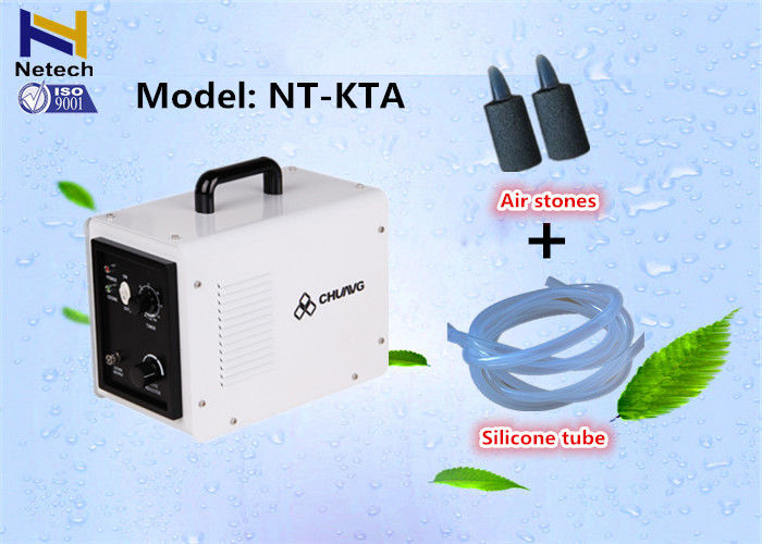 Adjustable 20 - 100% Household Ozone Generator Machine With Timer Control